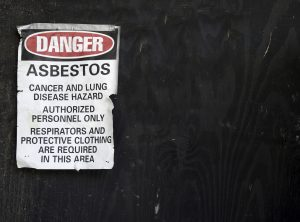 Asbestos testing removal